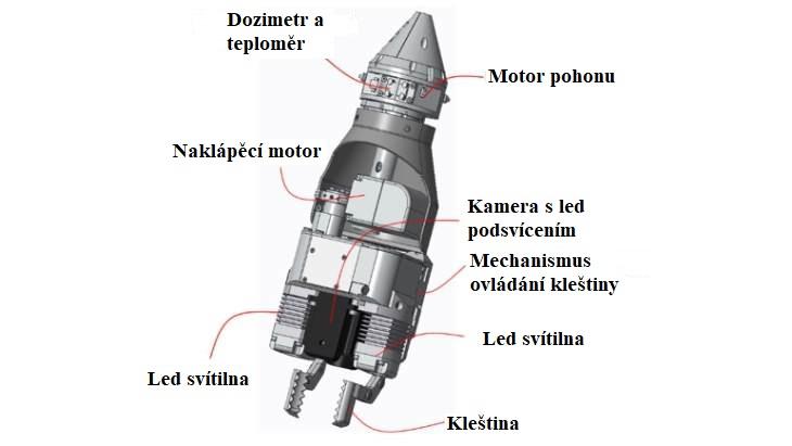 jaderná energie - Robot bude zkoumat palivové zbytky ve Fukušimě - Zprávy (Robot for FD2 PCV bottom investigation Toshiba) 2