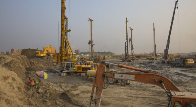 Postup při výstavbě Bangladéšské jaderné elektrárny