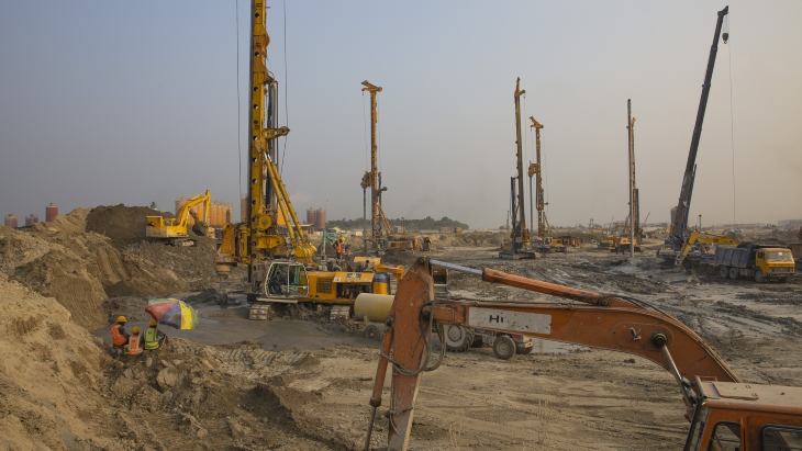 jaderná energie - Postup při výstavbě Bangladéšské jaderné elektrárny - Zprávy (Rooppur Bangladesh construction Oct 2018 L Gil IAEA) 1