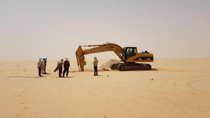 jaderná energie - Odebírání uranu z Tiris dohodnuto - Zprávy (Tiris Uranium Project sample mining Mauritania Aura) 1