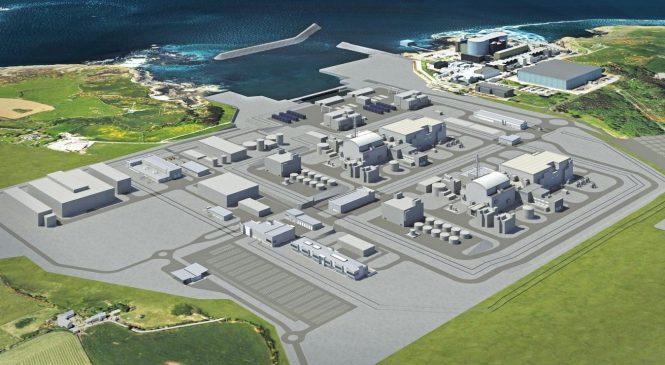 Jádro pomůže vyměnit britské fosilní elektrárny