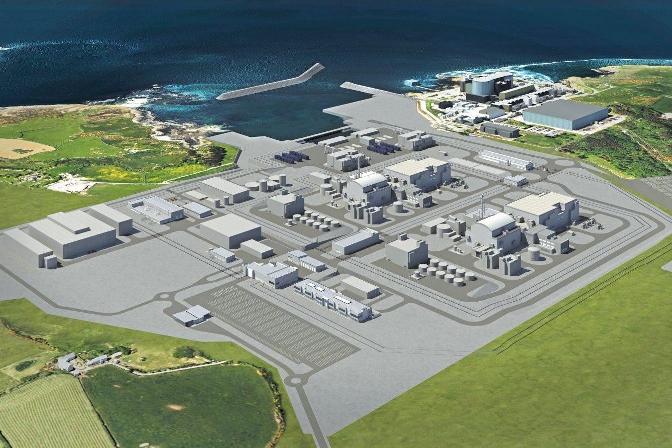 jaderná energie - Jádro pomůže vyměnit britské fosilní elektrárny - Zprávy (3112997 wylfanewyddnuclearpowerstation3to2) 2