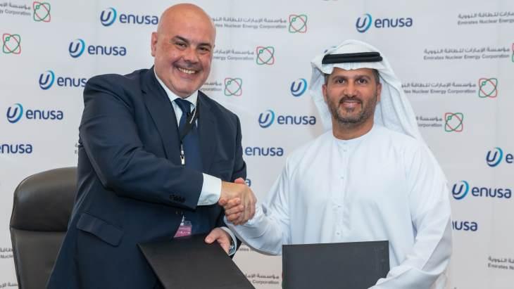 jaderná energie - Španělsko a Spojené Arabské Emiráty plánují spolupráci při zajištění palivového servisu - Zprávy (ENEC ENUSA March 2019 ENEC) 1