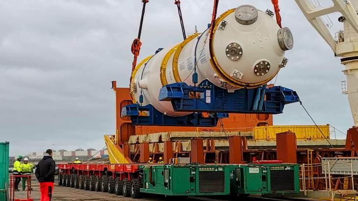 jaderná energie - Výměna parogenerátoru na 5. bloku elektrárny Gravelines - Zprávy (Gravelines 5 replacement SG March 2019 EDF) 1