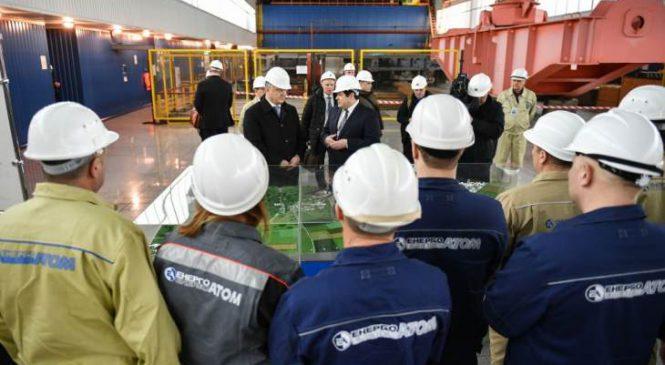 Ukrajinský prezident vyzdvihuje roli jaderné energetiky