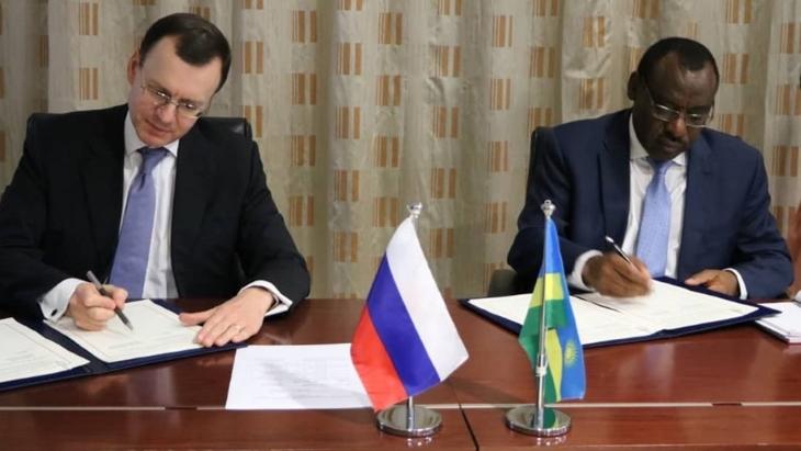 jaderná energie - Rusko a Rwanda plánují spolupráci při vzdělávání a veřejném přijetí - Zprávy (Rwanda Russia MOUs Rwanda Ministry of Infrastructure) 1