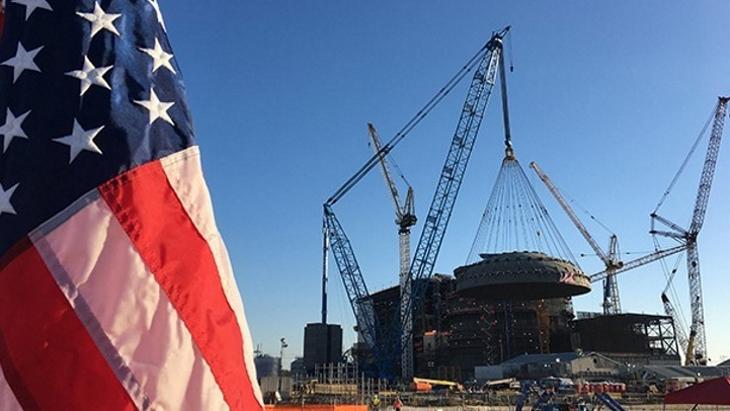 jaderná energie - Důležitost projektu Vogtle - Zprávy (Vogtle construction March 2019 Georgia Power) 1