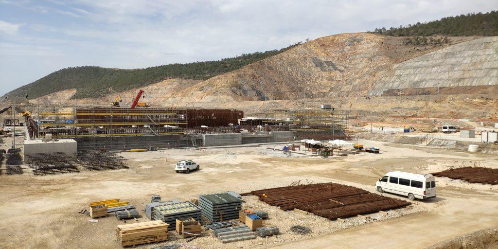 jaderná energie - První blok turecké JE Akkuyu má hotové základy - Zprávy (Základy reaktorové budovy prvního bloku JE Akkuyu) 1
