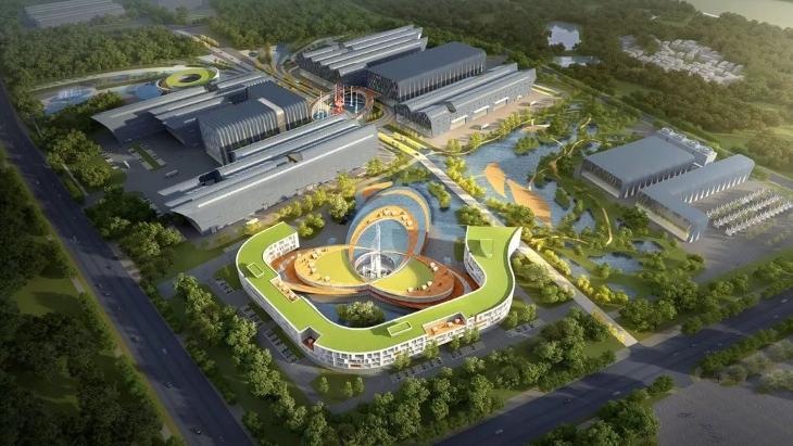 jaderná energie - Čína plánuje výzkum energetického využití fúze - Zprávy (China fusion park rendering March 2019) 1