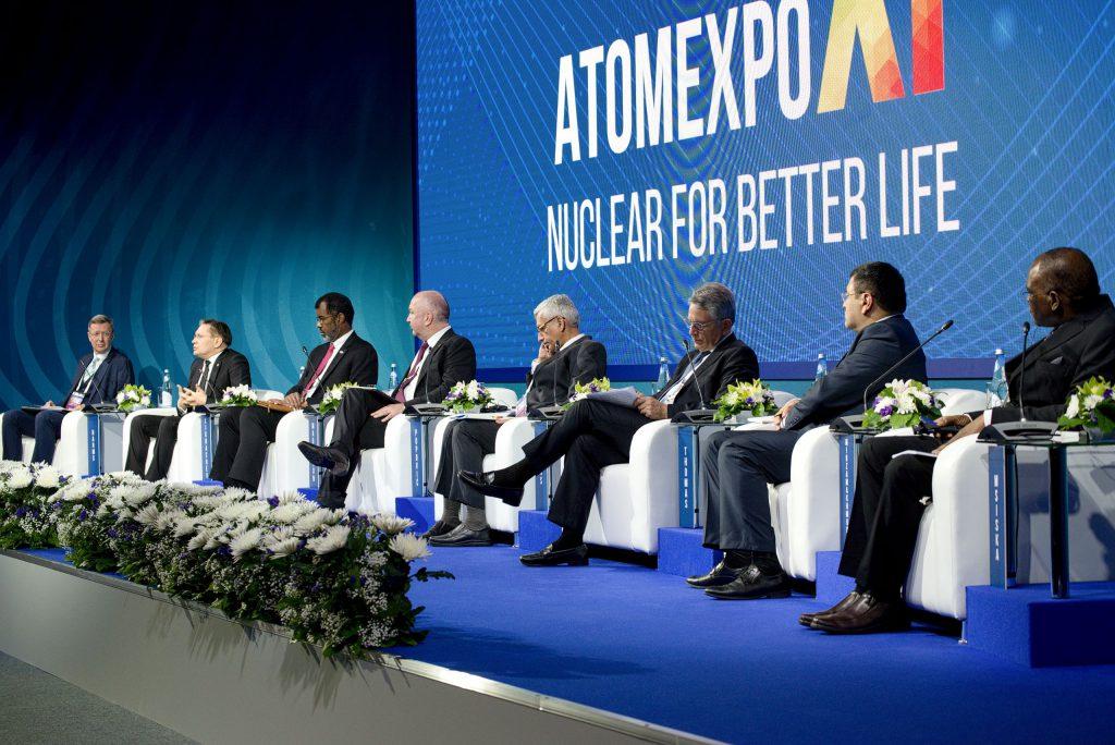 jaderná energie - Mezinárodní jaderné fórum Atomexpo 2019 soustřeďuje 74 zemí světa - Zprávy (DSC 9080 1) 1