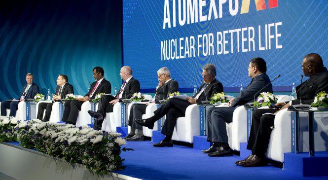 Mezinárodní jaderné fórum Atomexpo 2019 soustřeďuje 74 zemí světa