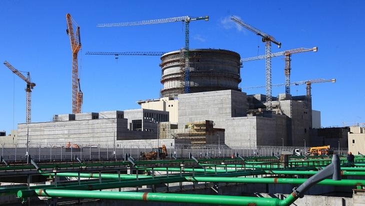 jaderná energie - Spouštění prvního běloruského bloku - Zprávy (Ostrovets 1 Belarus Rosatom) 1