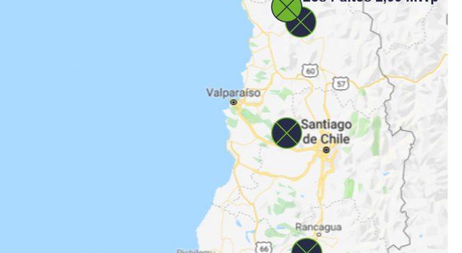 České elektrárny obkličují chilskou metropoli