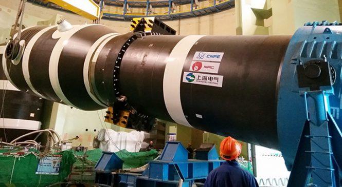 Čína instaluje parogenerátory na šestém bloku elektrárny Tchien-wan