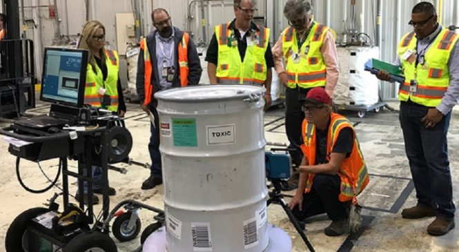 Nová technologie umožňuje lepší charakterizaci odpadů z in-situ
