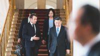 Xi a Macron diskutují o projektu přepracování paliva