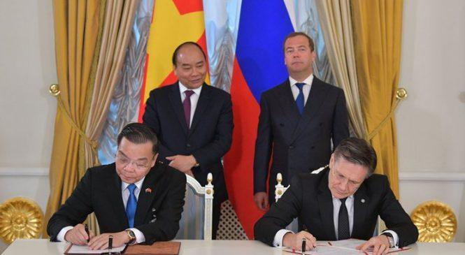 Rosatom podepsal s Vietnamem memorandum o harmonogramu výstavby Centra jaderné vědy a technologií