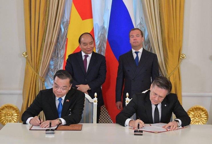 jaderná energie - Rosatom podepsal s Vietnamem memorandum o harmonogramu výstavby Centra jaderné vědy a technologií - Věda a jádro (22052019) 1