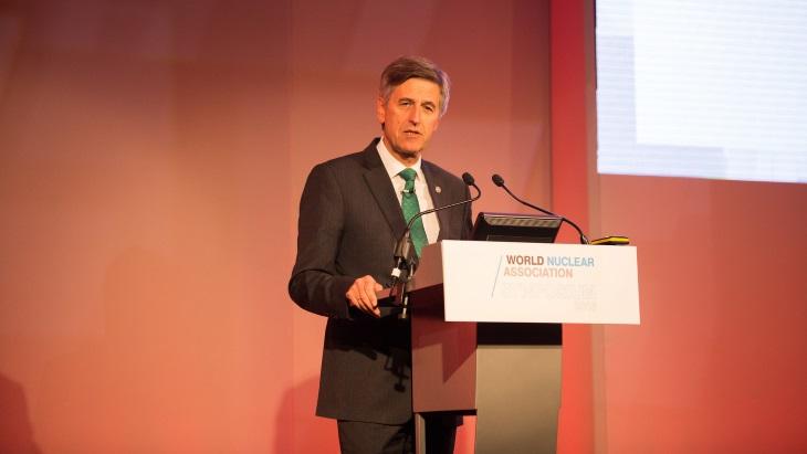 jaderná energie - Společnost Westinghouse oznámila změnu ve vedení - Zprávy (Gutierrez WNA Symposium 2018 WNA) 1
