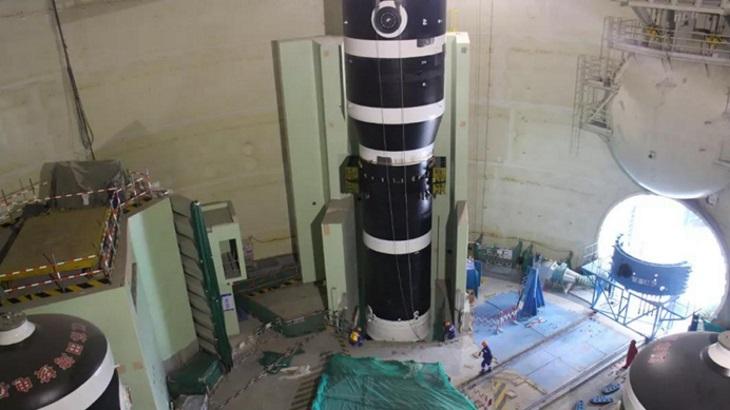 jaderná energie - Umístění parogenerátoru na šestém bloku Tchien-wan - Zprávy (Tianwan 6 third SG installation May 2019 CNI23) 1