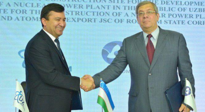 Rusko a Uzbekistán souhlasí se zahájením průzkumu nové jaderné elektrárny