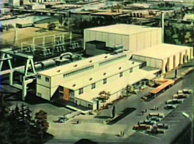jaderná energie - Reaktory chlazené organickým chladivem - Zprávy (Atomics International Commercial Organic Nuclear Plant) 1