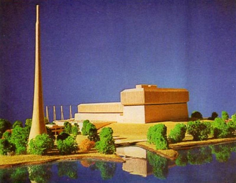 jaderná energie - Jaderné umělecké koncepty - Zprávy (Browns Ferry model two units only) 4