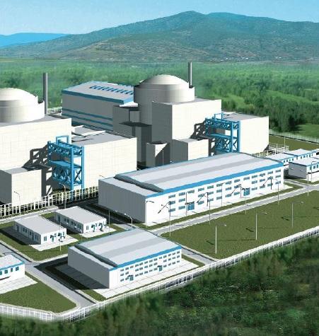 jaderná energie - Jaderné umělecké koncepty - Zprávy (CNNC ACP1000 Concept Art) 9