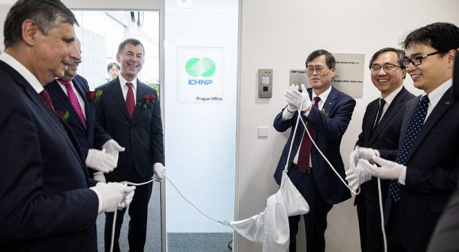 Firma Korea Hydro & Nuclear Power (korejský uchazeč o dostavbu českého jádra) v Praze otevřela novou kancelář