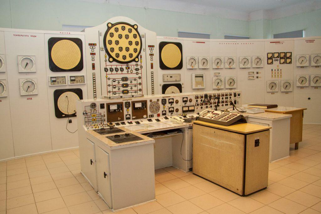 jaderná energie - Rosatom slaví 65. výročí jaderné energetiky - Zprávy (Obninsk Historický velín elektrárny) 2