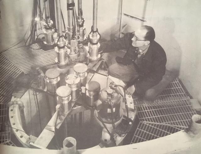 jaderná energie - Testy BORAT a SPERT, INL slaví 70 let - Fotografie (SPERT 1 rod drives) 3