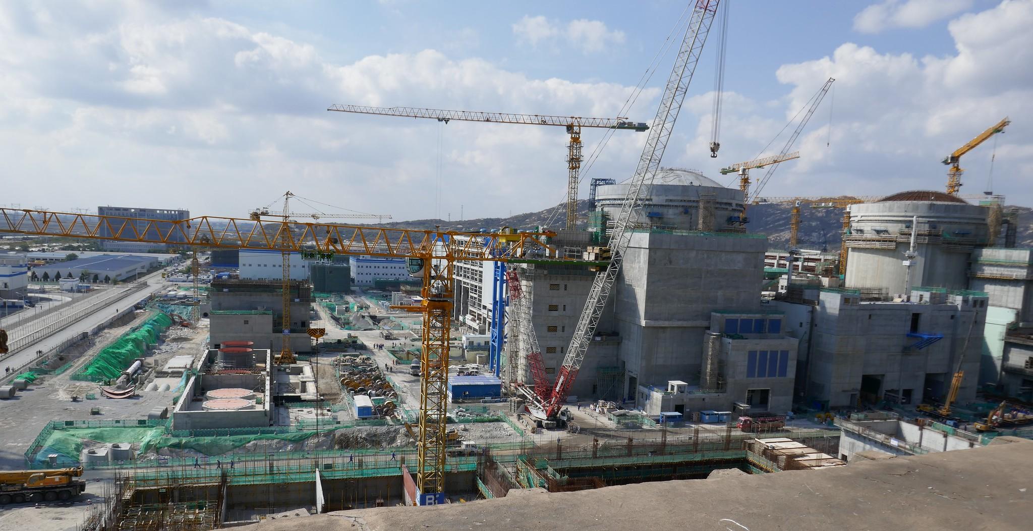 jaderná energie - Rosatom podepsal s Čínou kontrakt na výstavbu JE typu VVER v nové lokalitě - Nové bloky ve světě (Výstavba dvou bloků s ruskými technologiemi v JE Tchien) 3