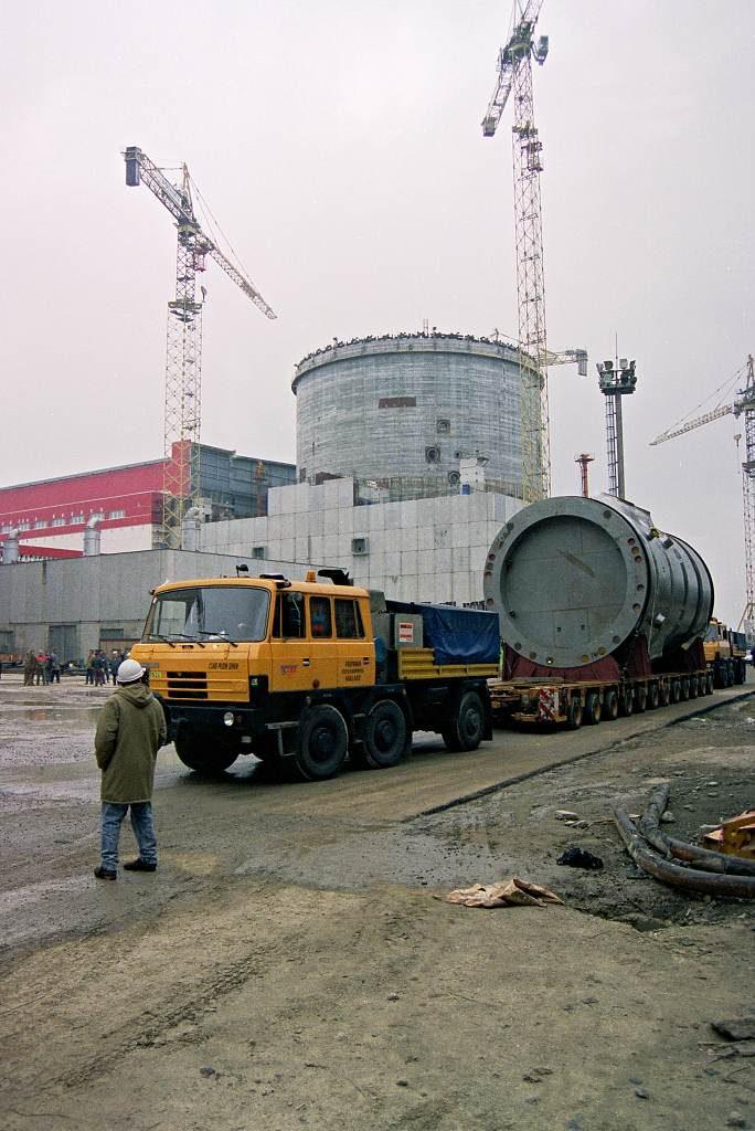 jaderná energie - iDnes.cz: Příprava stavby obchvatů začala, dočkat se mají Budějovice i Jaroměřice - Zprávy (reaktor nadoba doprava kontejnment kopie 1024) 1