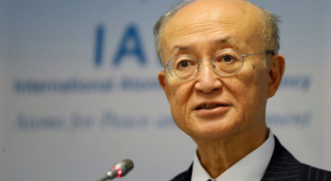 aktuálně.cz: Zemřel šéf Mezinárodní agentury pro atomovou energii. Japonci Amanovi bylo 72 let