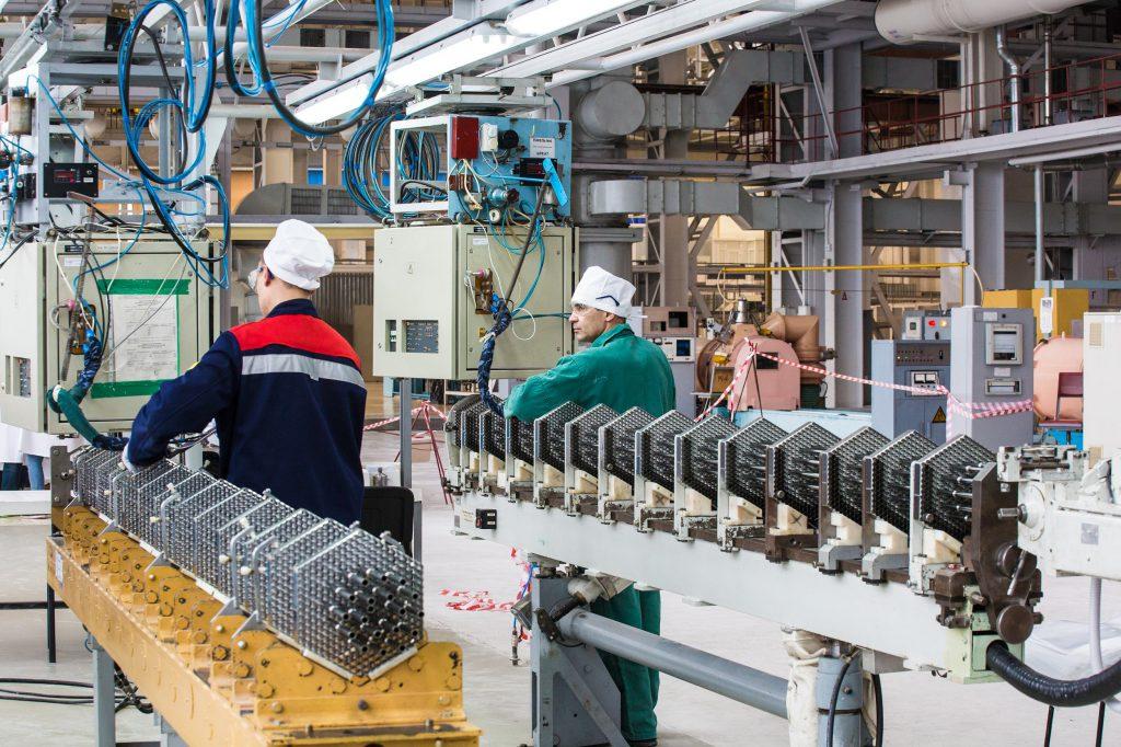 jaderná energie - TVEL dodal Číně stroje na výrobu jaderného paliva ruské konstrukce - Zprávy (Výroba paliva pro reaktory VVER 1000 v TVELu) 1