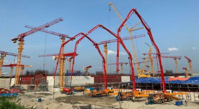 Bangladéš dokončila základy druhé strojovny jaderné elektrárny Rooppur