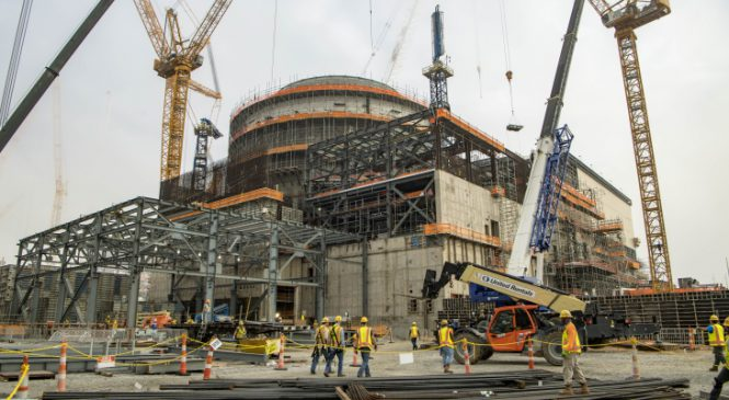 Společnost Georgia Power objednává palivo pro třetí blok elektrárny Vogtle