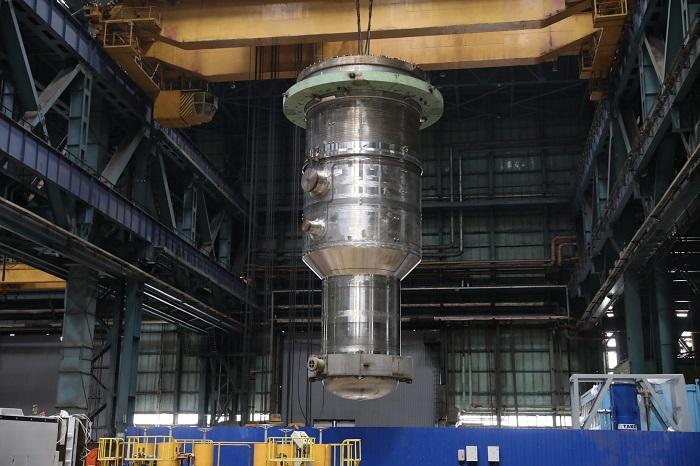 Nádoba reaktoru MBIR úspěšně absolvovala zkoušky