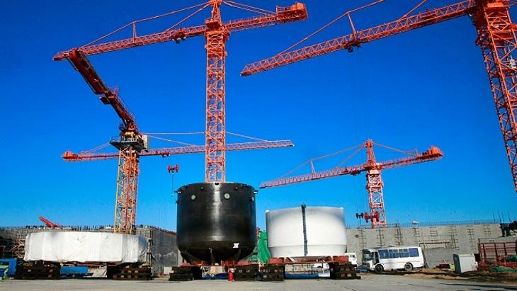jaderná energie - Lapač roztavené aktivní zóny dorazil na staveniště druhého bloku Kurské II jaderné elektrárny - Zprávy (Kursk II 2 core catcher Oct 2019) 1