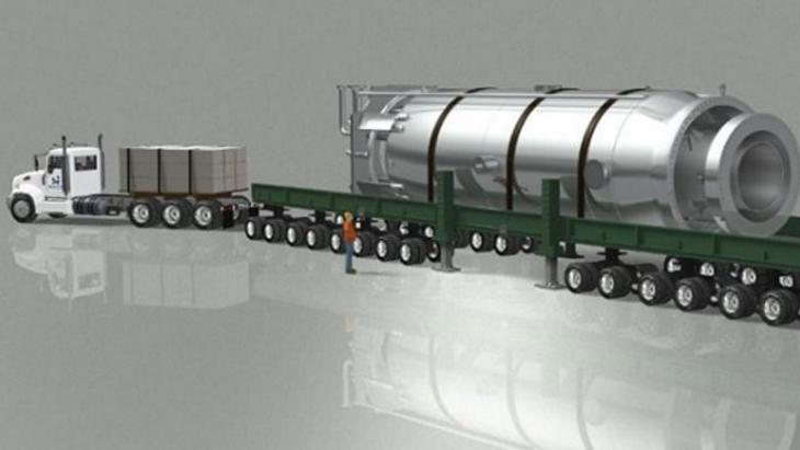 jaderná energie - enviweb: Doba komerčního využívání malých modulárních reaktorů je za dveřmi - Zprávy (NuScale SMR transporter NuScale) 1