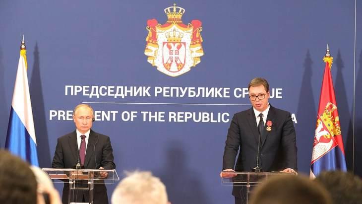 jaderná energie - Rusko a Srbsko podepsaly smlouvu o spolupráci: společně vybudují Centrum jaderného výzkumu, technologií a inovací - Zprávy (Russia Serbia January 2019 Kremlin) 1