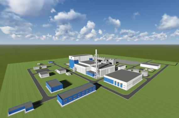 jaderná energie - Rosatom určil dvě lokality pro výstavbu malých jaderných reaktorů - Zprávy (Vizualizace jadenré elektrárny s malým reaktorem RITM 200 2) 1