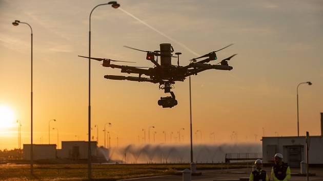 českobudějovický deník: Dron pořídil trojrozměrné modely Temelína