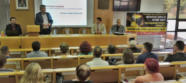 Jihlavská drbna: Zastupitelé Pelhřimova nesouhlasí s vybudováním úložiště jaderného odpadu