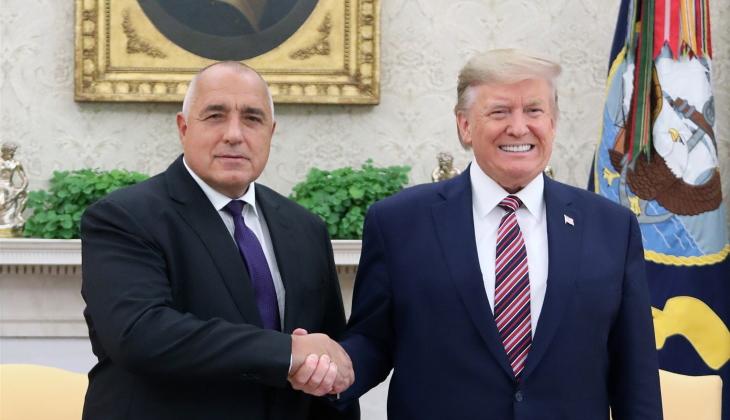 jaderná energie - Spolupráce Bulharska a USA při vývoji jaderné energetiky - Zprávy (Borrissov Trump Nov 2019 PM of Bulgaria) 1