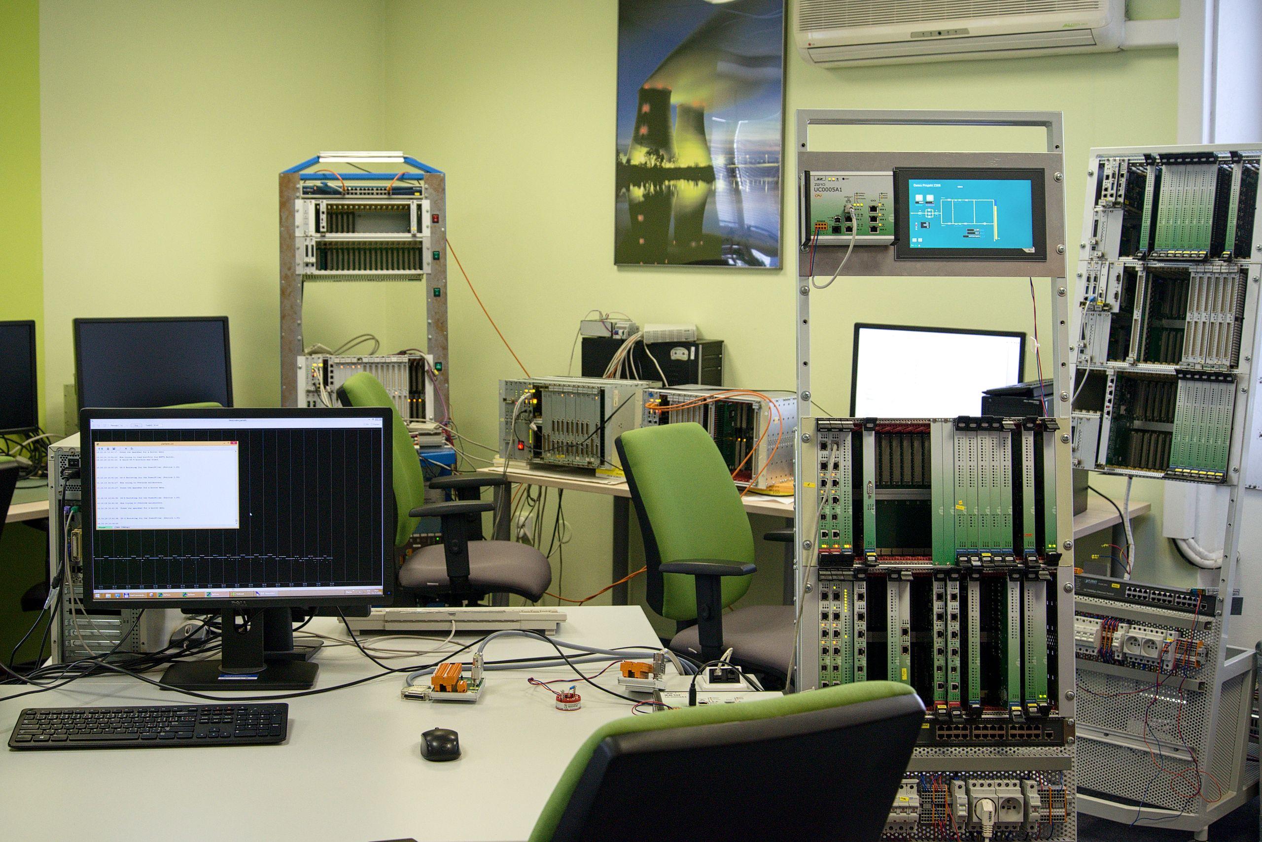 Novinky v řídicích systémech pro jaderné elektrárny