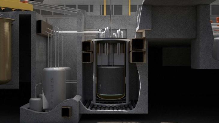 jaderná energie - Společnost Frazer-Nash podporuje výstavbu grafitem moderovaných IMSR - Zprávy (IMSR cutaway @TerrestrialIMSR) 1