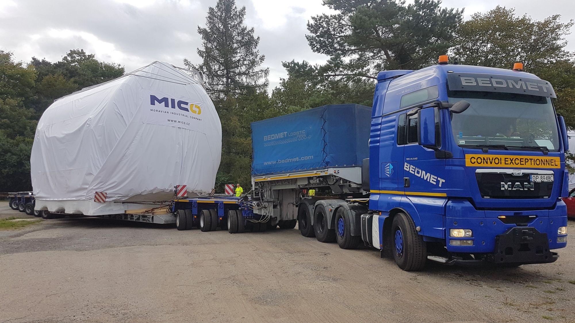 Palivové nádrže z České republiky ochrání jadernou elektrárnu Hinkley Point ve Velké Británii