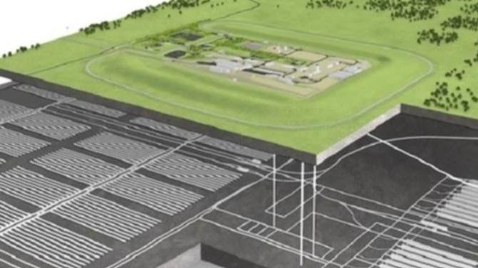 jaderná energie - Jasná cesta k výstavbě hlubinného úložiště - Zprávy (UK repository concept RWM) 1