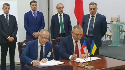 ŠKODA JS podepsala dohodu o dalších dodávkách pro ukrajinské jaderné elektrárny